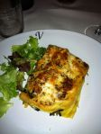 Very tasty fish lasagna.